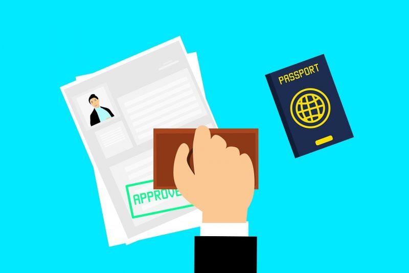 visa, approved, journey